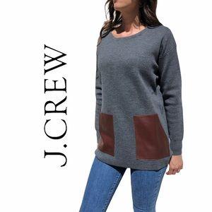 J. Crew- Oversized 100% Merino Wool Sweater